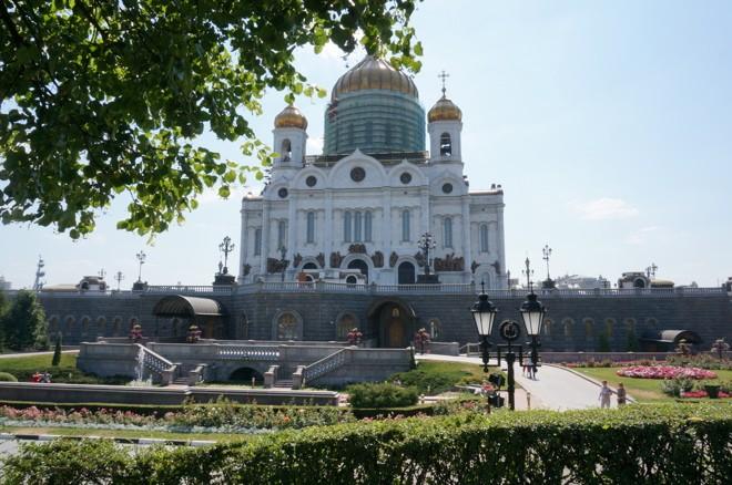 La cathedrale du Christ Sauveur