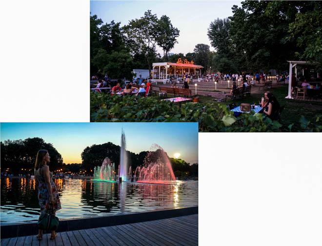 Le parc Gorki à Moscou russie