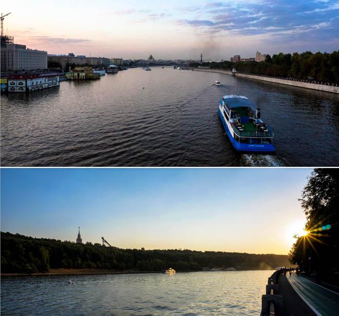 Une-promenade-le-long-du-fleuve-Moskova