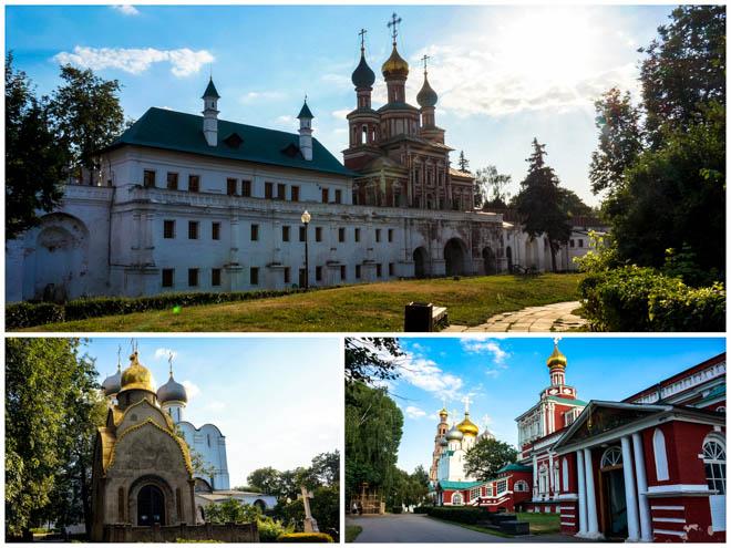 Le Couvent Novodievitchy à Moscou