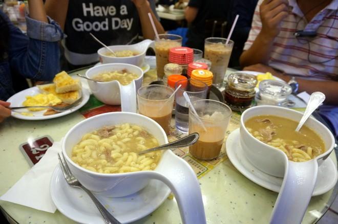 petit dejeuner a hong kong