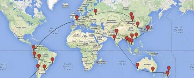L'histoire d'un itinéraire tour du monde abandonné