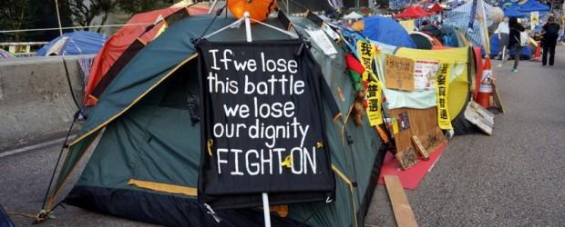 Hong Kong : Le mouvement des parapluies