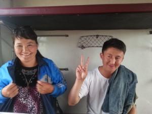 pompier mongolie fier de son pays