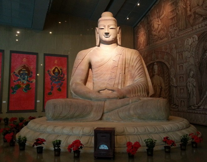 bouddha exposition grottes yungang a datong