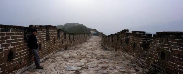 Nous irons camper sur la muraille de Chine