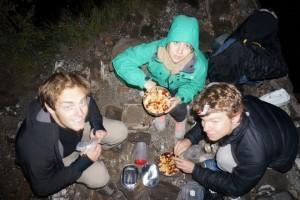 diner sur la muraille de chine