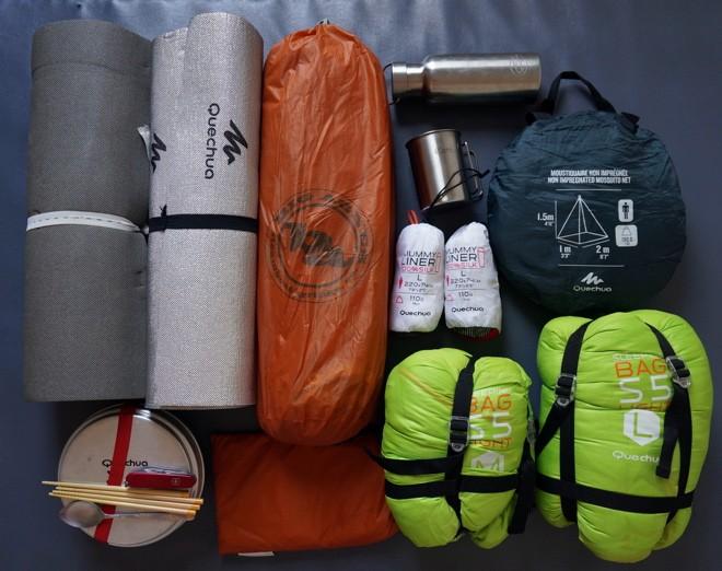 equipement camping tour du monde
