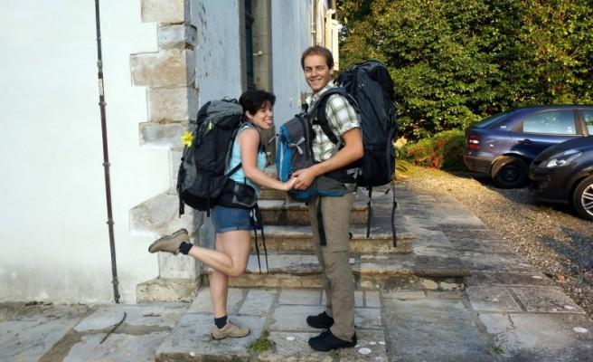 Nos sacs à dos pour notre tour du monde