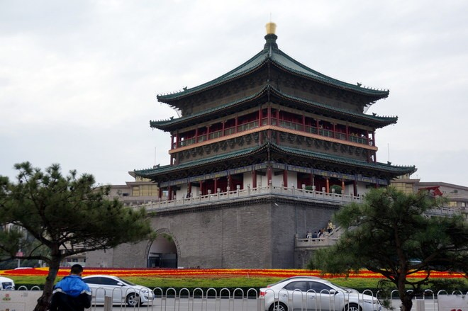 la drum tower a xian