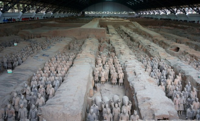 Xian et son armée de terre cuite