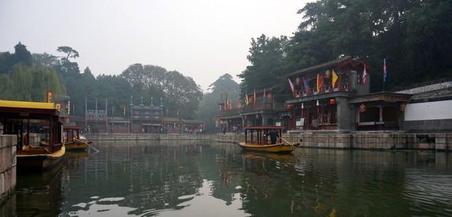 le palais d'été à Beijing