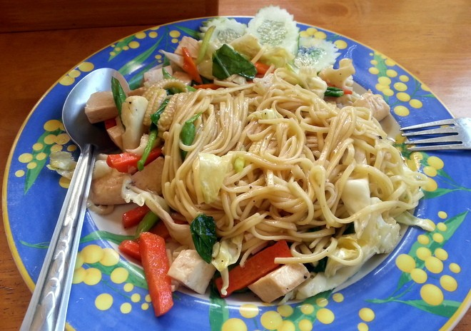 pad thai en thailande