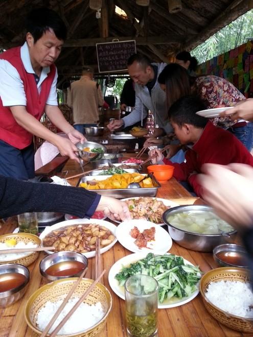 repas woofing chine huaxi farm