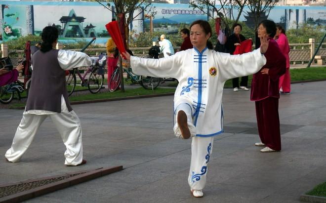 tai-chi-chuan parc dujiangyan