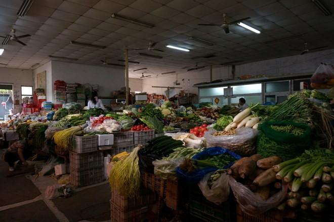 un marché hutong à Pékin
