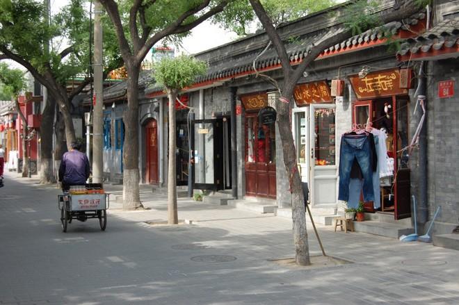 une rue dans les hutongs a Pekin