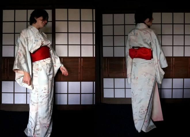 aline kimono volontariat japon