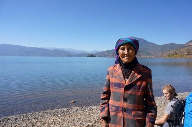 femme matriarca moso lac lugu chine