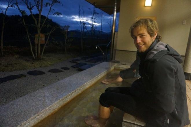 onsen des pieds japon