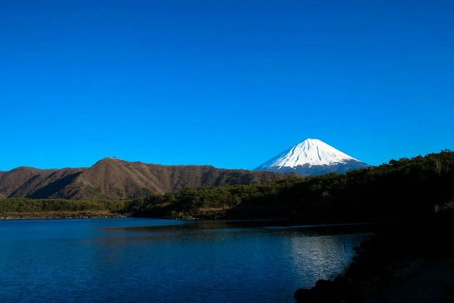 Lac Sai mont fuji japon