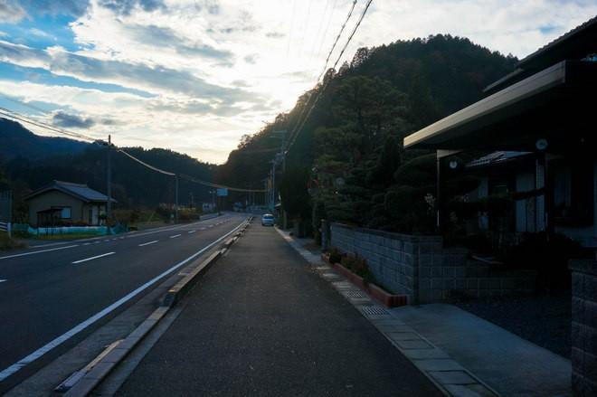 auto stop bord de route japon