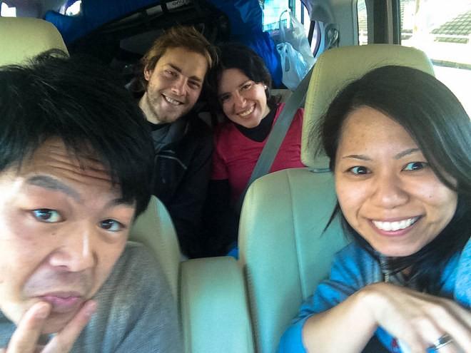 auto stop japon tokyo avec futurs mariés