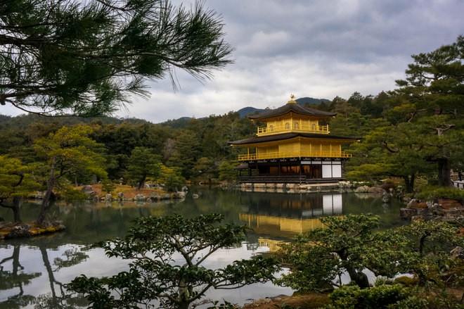 kyoto autostop japon temple doré
