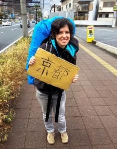 le monde a deux auto stop japon kyoto