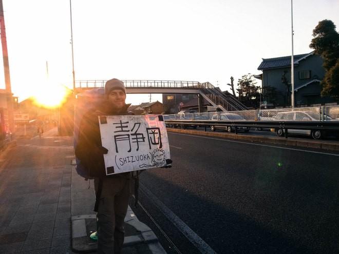 le monde a deux auto stop japon