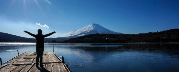 Un incontournable au Japon : le Mont Fuji en Hiver
