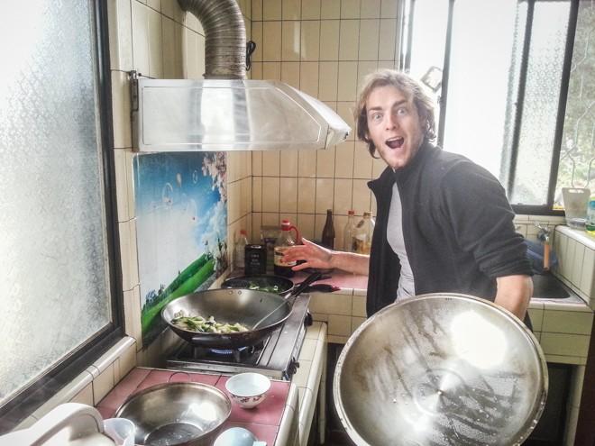 le monde a deux cuisine bénévolat taiwain