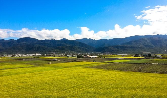 vue cote est taiwan route 9 route 193