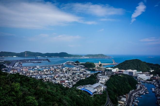 vue de suao harbor tour taiwan velo