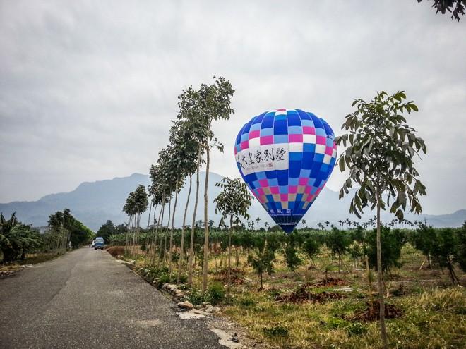 festival des mongolfieres à taïwan