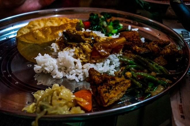 repas indien volontariat ferme malaisie
