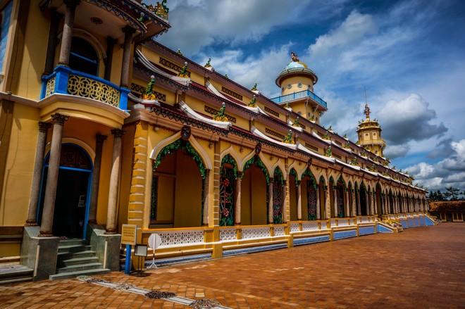Temple de Cao Dai Tay Ninh