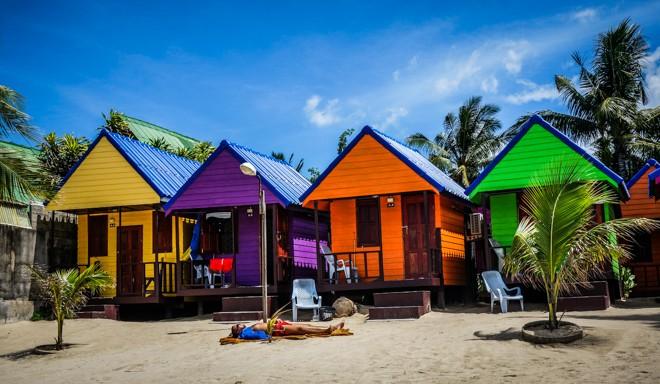 bungalow plage haad salad ile koh pha ngan thailande