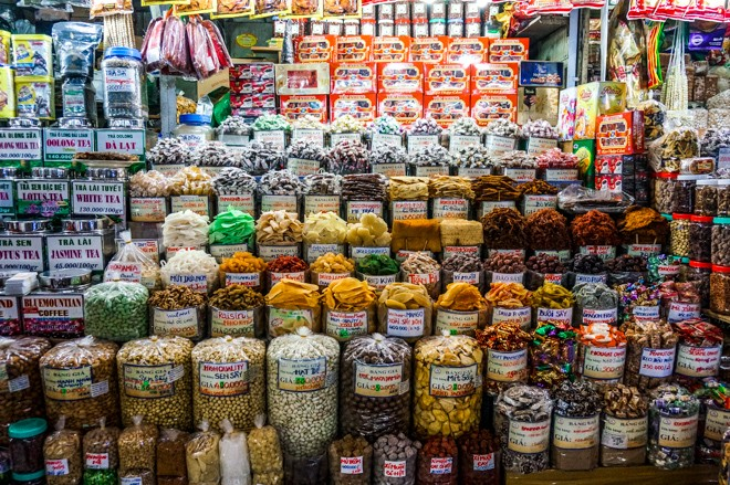 marché Ben Than ho chi minh ville