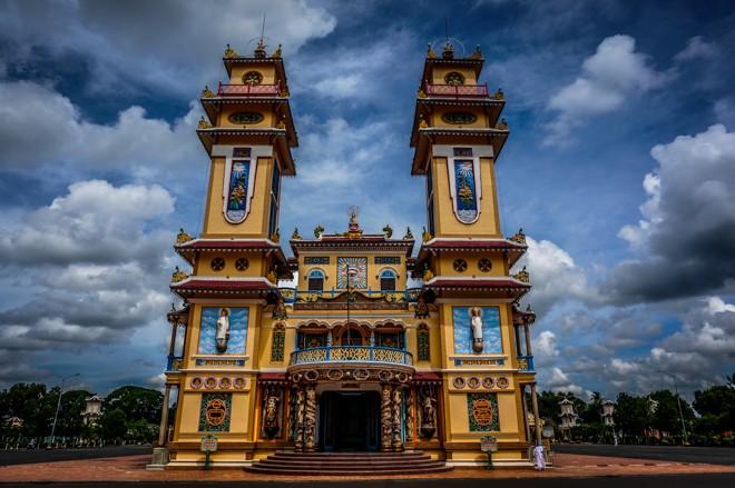 photos Temple Cao Dai Tay Ninh vietnam