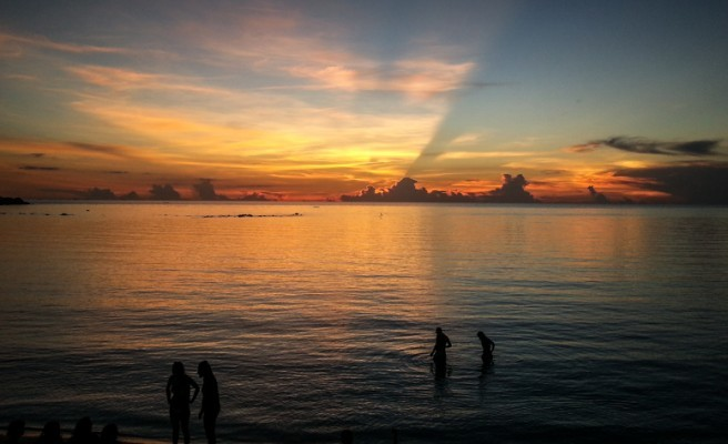 Un repos bien mérité sur les iles de Thailande