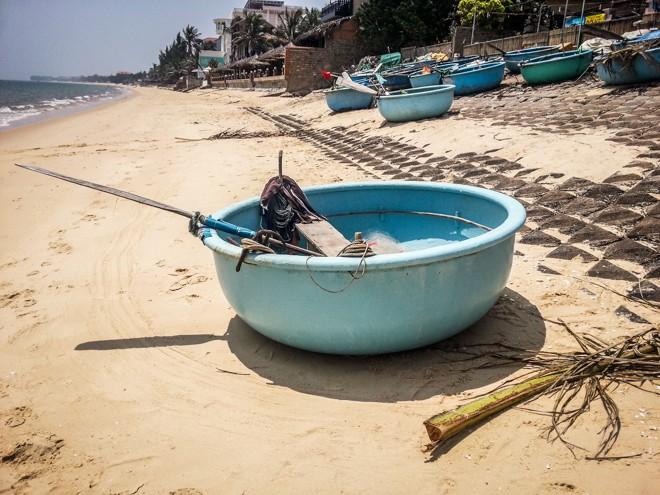 bateau rond mui ne vietnam