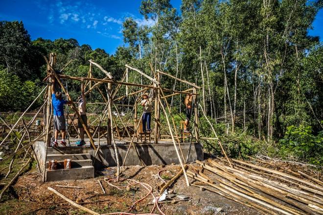construction resort volontariat vietnam