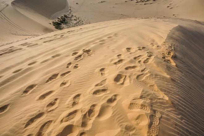 dunes de sable blanc muine vietnam