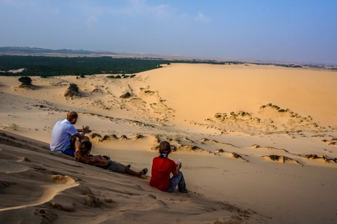 dunes de sables blanc mui ne vietnam