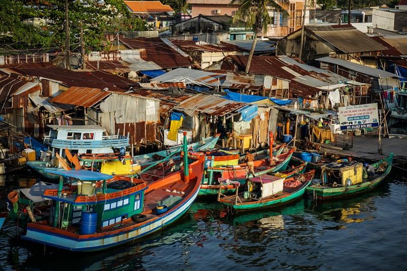 bateaux port phu quoc vietnam
