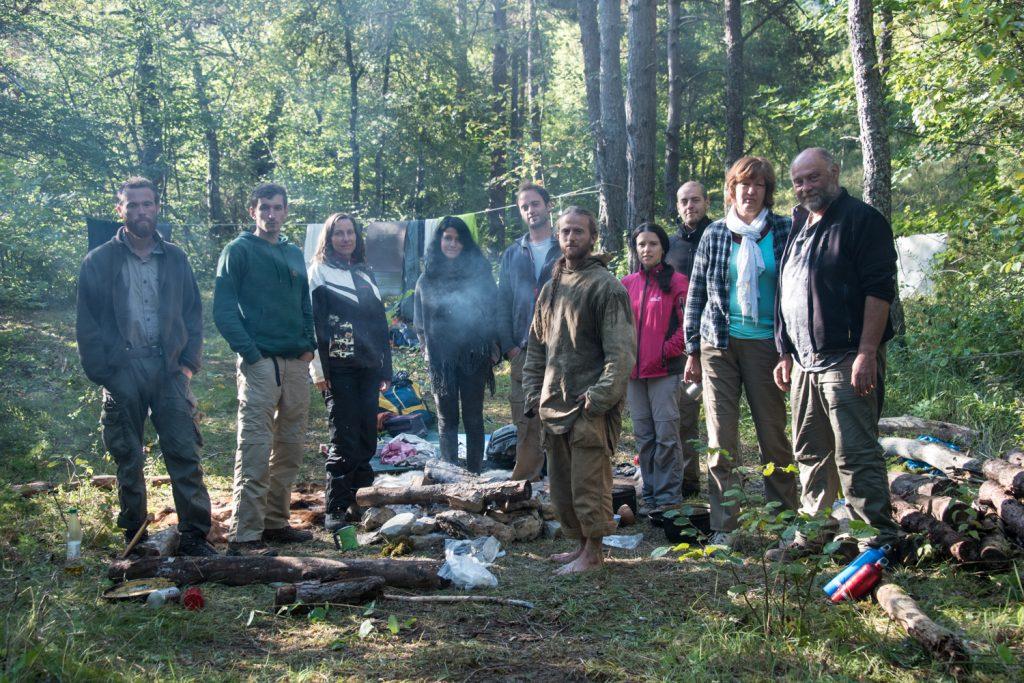 stage vie sauvage et vagabondage dans les bois