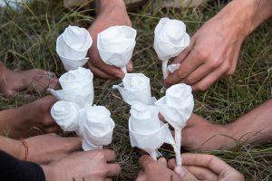 fleur en papier stage vie sauvage et vagabondage