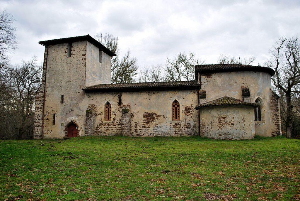 église Saint Michel du Vieux Lugo chambre d'hôte Landes